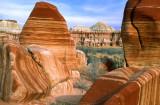 Striped rocks, Blue Canyon, AZ