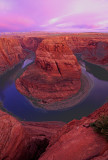 Horseshoe Bend, Colorado River near Page, AZ