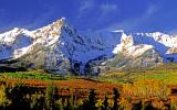 (AG21) Horn, cirques, and aretes, San Juan Mountains, CO