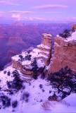 (GC5) Yaki Pont after sunset, Grand Canyon, AZ