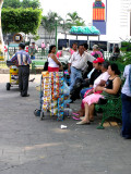 Vendor in the Central Square