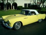 Don & Carol's 1955 Goldenrod Thunderbird