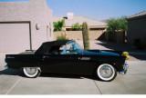 Jerry & Rochelle's 1955 Thunderbird