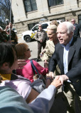 Shaking Hands with John McCain
