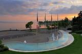Evening at Le Parc Olympique