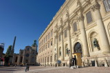 At the Royal Palace and Storkyrkan