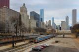 Van Buren Street Station and the City