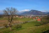 View toward Epagny and Broc