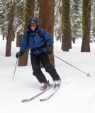 Tahoe skiing --- Inbounds, Out of bounds.
