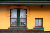 Australian Old Country Pub Windows
