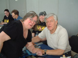 Me & David Prowse, Max Grodenchick behind me 05.05.08 148.jpg