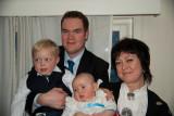 Jonas's baptism 2010