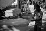 Coffins - Leogane Haiti