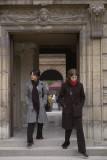 Cautious Entry to Place des Vosges