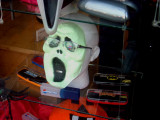 Opticians halloween window display Maidstone
