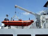 Rescue boat and davit
