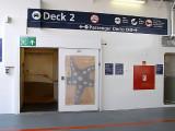 Deck 2, vehicle deck signage