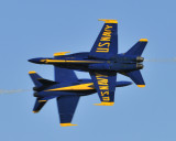 Blue Angels at Wings Over Houston 2009