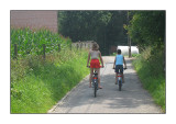 Bike tour in our neighbourhood, July 2008