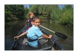 Kayak tour on Jolien's 12th birthday, August 2008
