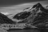 Mountain Scenery and Glacier