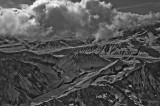 Aerial view in IR