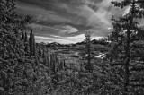 Denali National Park in IR