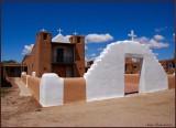 St. Jerome, Chapel / Taos Pueblo  New Mexico USA