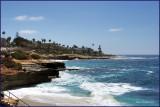 La Jolla California on the coast of the Pacific Ocean