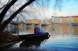 Vltava river mood