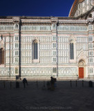 Along the Piazza del Duomo