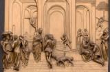 Bronze panel detail(Ghiberti)