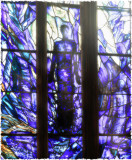Blue angel window(Gloucester cathedral)
