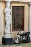 Venus and motorbike