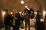 Tasting in the Thomas George cave
