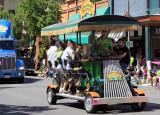 Sierra Nevada Brewery pedal-powered trolley