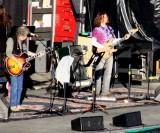 Pre-show soundcheck; Bob Weir, John Kadlecik
