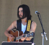 Jackie Greene on the Dark Hollow Stage