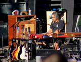 Jeff Chimenti sits in with Jackie Greene Band, Furthur stage