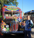 Alan with the Kesey Bus