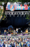 Jackie Greene and his band perform in an idyllic setting