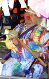 Wavy Gravy, leading a children's parade