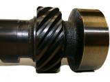 Cam close up distributor gear