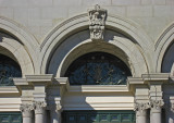 Detail of the West Wing of Memorial Hall, Fairmount Park, Philadelphia