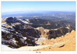 Pikes Peak - view from the top