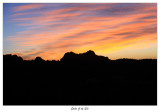 Garden of the Gods at dawn