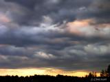 Le sud au couchant - South sky at sunset