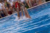 20080726 En Route vers Pékin - Equipe Olympique de nage synchronisée  de Plongeon 0133.jpg