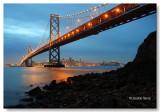 San Francisco Bay Bridge low tide