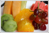 Fruits in the morning